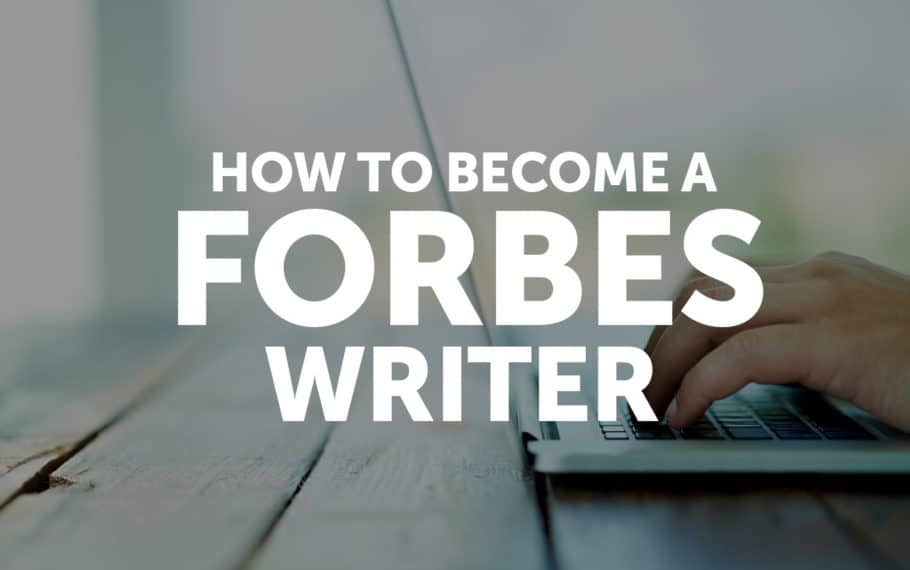 How to Become a Forbes Writer | Josh Steimle