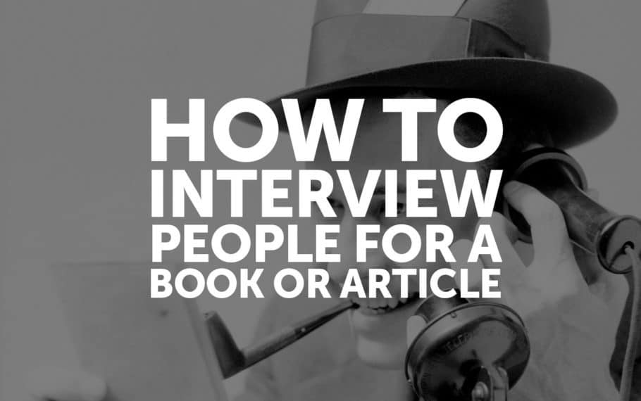 How To Be Black Book >> How To Interview People For A Book Or Article Josh Steimle