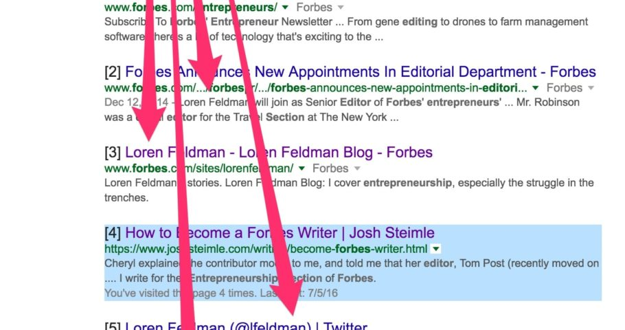 Who Do I Contact At Forbes to Become a Contributor? | Josh