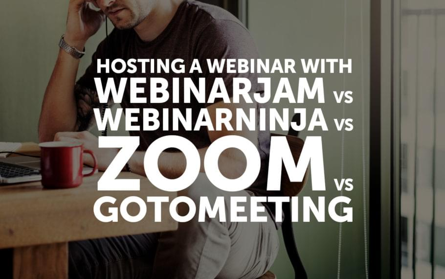 Hosting a Webinar With WebinarJam vs WebinarNinja vs Zoom vs